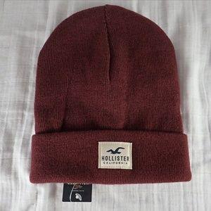 Hollister Maroon Hat - NWT